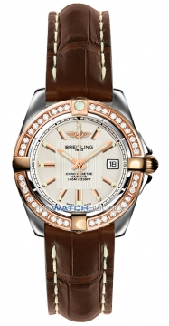 Breitling Galactic 32 Ladies watch, model number - c71356LA/g704-2ct, discount price of £5,220.00 from The Watch Source