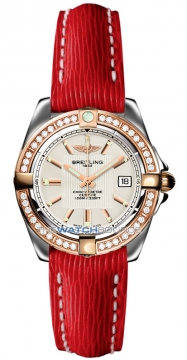 Breitling Galactic 32 Ladies watch, model number - c71356LA/g704-6lts, discount price of £4,990.00 from The Watch Source