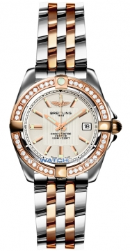 Breitling Galactic 32 Ladies watch, model number - c71356LA/g704-tt, discount price of £6,720.00 from The Watch Source