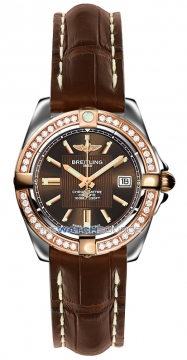 Breitling Galactic 32 Ladies watch, model number - c71356LA/q581-2cd, discount price of £5,390.00 from The Watch Source