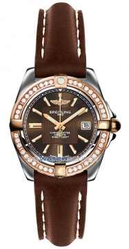 Breitling Galactic 32 Ladies watch, model number - c71356LA/q581-2ld, discount price of £5,130.00 from The Watch Source