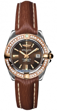 Breitling Galactic 32 Ladies watch, model number - c71356LA/q581-2lts, discount price of £4,990.00 from The Watch Source