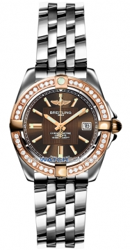 Breitling Galactic 32 Ladies watch, model number - c71356LA/q581-ss, discount price of £5,770.00 from The Watch Source