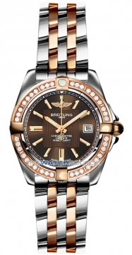 Breitling Galactic 32 Ladies watch, model number - c71356LA/q581-tt, discount price of £6,720.00 from The Watch Source