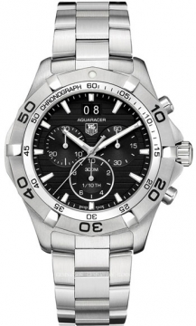 Tag Heuer Aquaracer Quartz Chronograph Mens watch, model number - caf101e.ba0821, discount price of £1,360.00 from The Watch Source