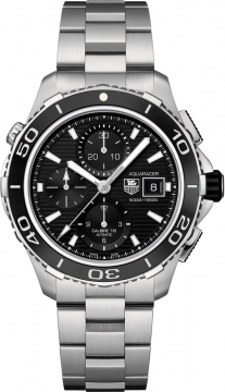 Tag Heuer Aquaracer Automatic Chronograph 500M Mens watch, model number - cak2110.ba0833, discount price of £2,847.00 from The Watch Source