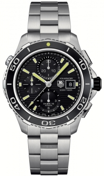 Tag Heuer Aquaracer Automatic Chronograph 500M Mens watch, model number - cak2111.ba0833, discount price of £2,747.00 from The Watch Source