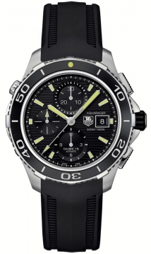 Tag Heuer Aquaracer Automatic Chronograph 500M Mens watch, model number - cak2111.ft8019, discount price of £2,440.00 from The Watch Source