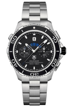 Tag Heuer Aquaracer 500m Calibre 72 Countdown Chronograph Mens watch, model number - cak211a.ba0833, discount price of £3,080.00 from The Watch Source