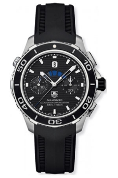Tag Heuer Aquaracer 500m Calibre 72 Countdown Chronograph Mens watch, model number - cak211a.ft8019, discount price of £3,570.00 from The Watch Source