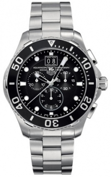 Tag Heuer Aquaracer Quartz Chronograph Mens watch, model number - can1010.ba0821, discount price of £1,435.00 from The Watch Source