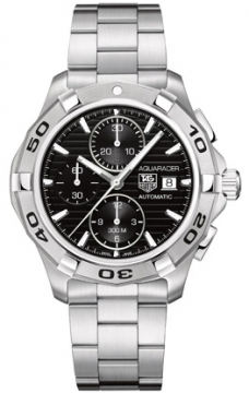 Tag Heuer Aquaracer Automatic Chronograph Mens watch, model number - cap2110.ba0833, discount price of £2,000.00 from The Watch Source