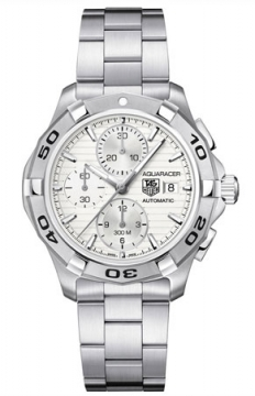 Tag Heuer Aquaracer Automatic Chronograph Mens watch, model number - cap2111.ba0833, discount price of £2,000.00 from The Watch Source