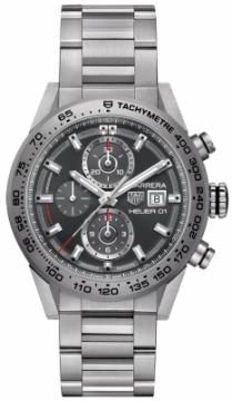 Buy this new Tag Heuer Carrera Caliber Heuer 01 43mm car208z.bf0719 mens watch for the discount price of £4,037.00. UK Retailer.