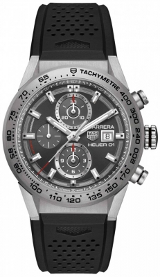 Buy this new Tag Heuer Carrera Caliber Heuer 01 43mm car208z.ft6046 mens watch for the discount price of £3,825.00. UK Retailer.