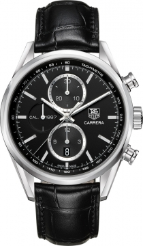 Tag Heuer Carrera Calibre 1887 Automatic Chronograph 41mm Mens watch, model number - car2110.fc6266, discount price of £2,720.00 from The Watch Source