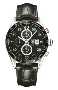 Tag Heuer Carrera Calibre 1887 Automatic Chronograph 43mm Mens watch, model number - car2a10.fc6235, discount price of £3,116.00 from The Watch Source