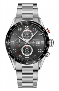 Tag Heuer Carrera Calibre 1887 Automatic Chronograph 43mm Mens watch, model number - car2a11.ba0799, discount price of £3,116.00 from The Watch Source
