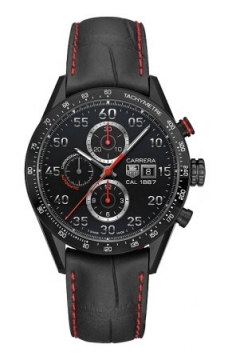 Tag Heuer Carrera Calibre 1887 Automatic Chronograph 43mm Mens watch, model number - car2a80.fc6237, discount price of £3,320.00 from The Watch Source