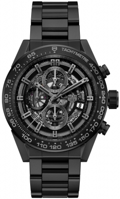 Buy this new Tag Heuer Carrera Caliber Heuer 01 Skeleton 45mm car2a91.bh0742 mens watch for the discount price of £4,462.00. UK Retailer.