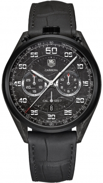 Tag Heuer Carrera Calibre 1887 Automatic Chronograph 45mm Mens watch, model number - car2c90.fc6341, discount price of £6,555.00 from The Watch Source