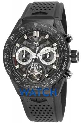 Tag Heuer Carrera Calibre HEUER 02T Tourbillon Chronograph 45mm car5a8w.ft6071 watch