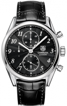 Tag Heuer Carrera Heritage Automatic Chronograph Mens watch, model number - cas2110.fc6266, discount price of £2,760.00 from The Watch Source