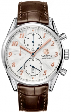 Tag Heuer Carrera Heritage Automatic Chronograph Mens watch, model number - cas2112.fc6291, discount price of £3,200.00 from The Watch Source