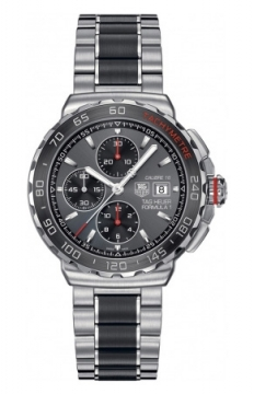Tag Heuer Formula 1 Automatic Chronograph Mens watch, model number - cau2011.ba0873, discount price of £1,900.00 from The Watch Source