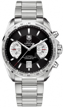 Tag Heuer Grand Carrera Automatic Chronograph Mens watch, model number - cav511a.ba0902, discount price of £4,440.00 from The Watch Source