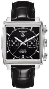 Tag Heuer Monaco Chronograph Mens watch, model number - caw2110.fc6177, discount price of £3,442.00 from The Watch Source