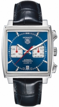 Tag Heuer Monaco Chronograph Mens watch, model number - caw2111.fc6183, discount price of £3,321.00 from The Watch Source
