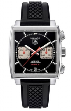 Tag Heuer Monaco Chronograph Mens watch, model number - caw2114.ft6021, discount price of £3,680.00 from The Watch Source