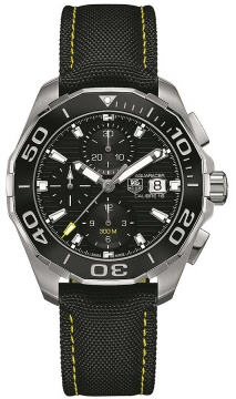 Buy this new Tag Heuer Aquaracer Automatic Chronograph cay211a.fc6361 mens watch for the discount price of £2,460.00. UK Retailer.