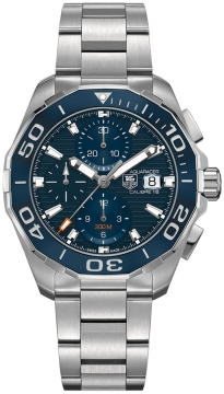 Buy this new Tag Heuer Aquaracer Automatic Chronograph cay211b.ba0927 mens watch for the discount price of £2,592.00. UK Retailer.