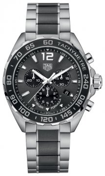 Buy this new Tag Heuer Formula 1 Chronograph caz1011.ba0843 mens watch for the discount price of £1,402.00. UK Retailer.