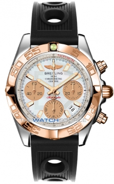 Breitling Chronomat 41 Mens watch, model number - cb014012/a722-1or, discount price of £7,020.00 from The Watch Source