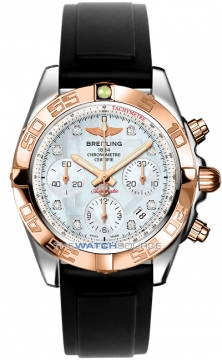Breitling Chronomat 41 Mens watch, model number - cb014012/a723-1pro2t, discount price of £7,010.00 from The Watch Source