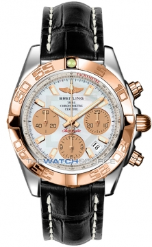 Breitling Chronomat 41 Mens watch, model number - cb014012/a722-1cd, discount price of £7,270.00 from The Watch Source