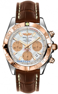 Breitling Chronomat 41 Mens watch, model number - cb014012/a722-2ct, discount price of £7,070.00 from The Watch Source