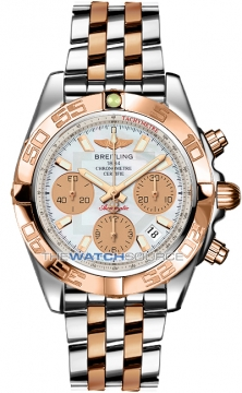 Breitling Chronomat 41 Mens watch, model number - cb014012/a722-tt, discount price of £8,840.00 from The Watch Source
