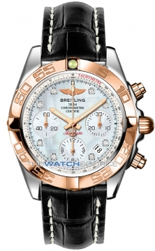 Breitling Chronomat 41 Mens watch, model number - cb014012/a723-1cd, discount price of £7,490.00 from The Watch Source