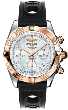 Breitling Chronomat 41 Mens watch, model number - cb014012/a723-1or, discount price of £7,220.00 from The Watch Source
