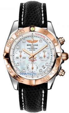 Breitling Chronomat 41 Mens watch, model number - cb014012/a723-1zd, discount price of £7,270.00 from The Watch Source