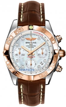 Breitling Chronomat 41 Mens watch, model number - cb014012/a723-2ct, discount price of £7,310.00 from The Watch Source
