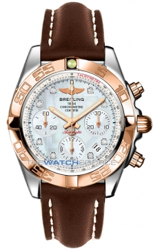 Breitling Chronomat 41 Mens watch, model number - cb014012/a723-2lt, discount price of £7,070.00 from The Watch Source