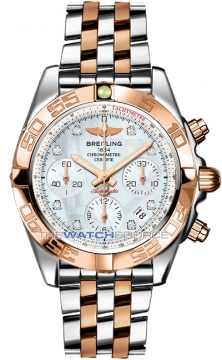 Breitling Chronomat 41 Mens watch, model number - cb014012/a723-tt, discount price of £9,080.00 from The Watch Source