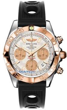 Breitling Chronomat 41 Mens watch, model number - cb014012/g713-1or, discount price of £6,720.00 from The Watch Source