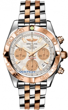 Breitling Chronomat 41 Mens watch, model number - cb014012/g713-tt, discount price of £8,540.00 from The Watch Source