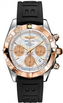 Breitling Chronomat 41 Mens watch, model number - cb014012/a722-1pro3t, discount price of £6,800.00 from The Watch Source